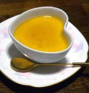 かぼちゃチーズプリン