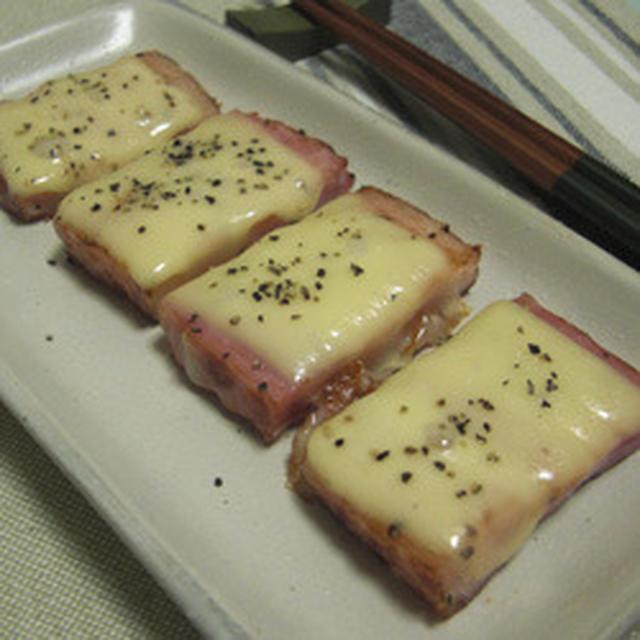 厚切りベーコンチーズ