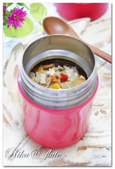 スープジャー 鶏と生姜の中華粥