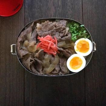 牛丼弁当 (Ü)