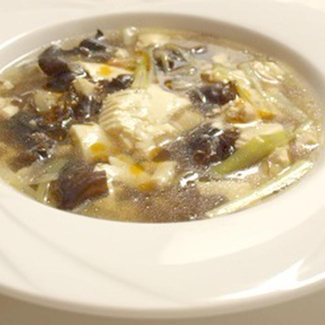 夏バテの疲労回復と内臓を温めるスープ~食べるコスメ