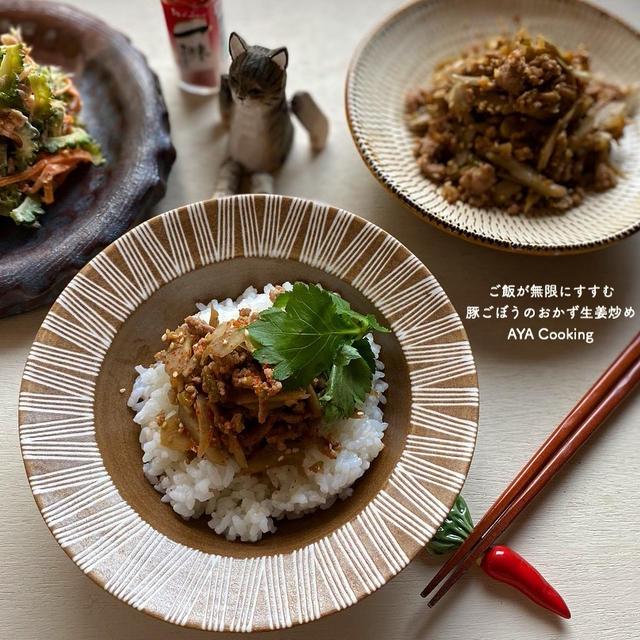 おうち夏祭り『工作編』と豚ごぼうのおかず生姜炒め