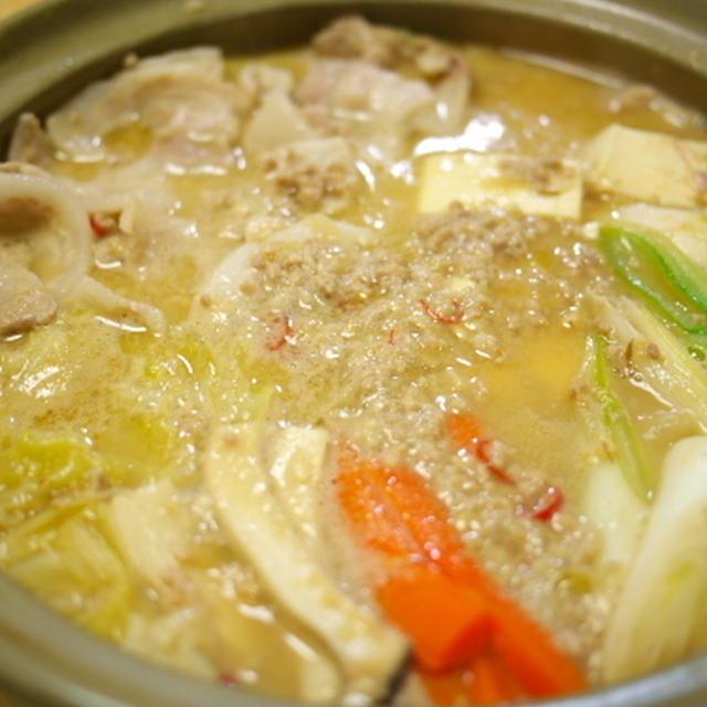ごま味噌 豚々鍋