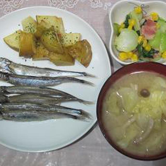 7月後半の夕飯記録~青ジソ成長