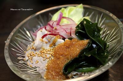 【玉葱ノンオイル】........冷しゃぶサラダ