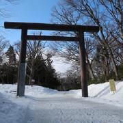 北海道神宮へ 御朱印頂きました