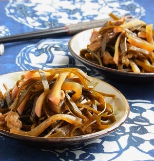 クーブイリチー(昆布の炒め煮)