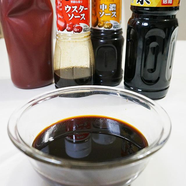 『ソースかつ丼のソース』串カツ用のソースとしてもOK!