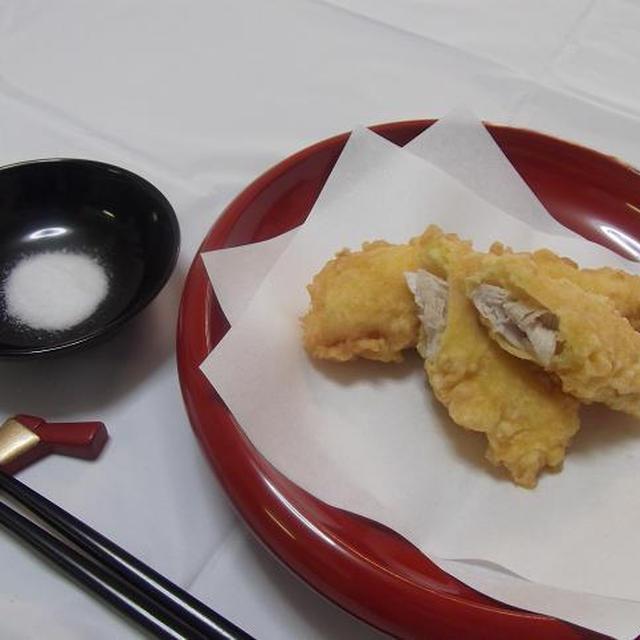 生姜風味★味付き鶏天