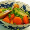 京風:大根とごぼう天の煮物