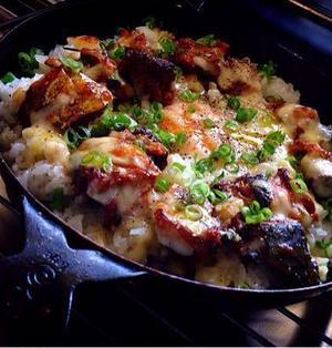鯖の味噌煮缶で簡単グリルごはんはとろ~りチーズ・ビスマルク