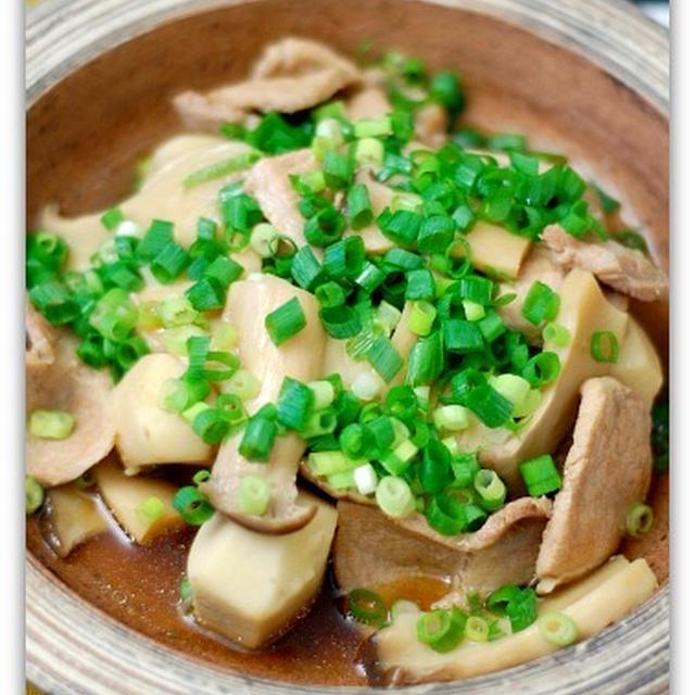 和食♪豚肉と里芋の煮物