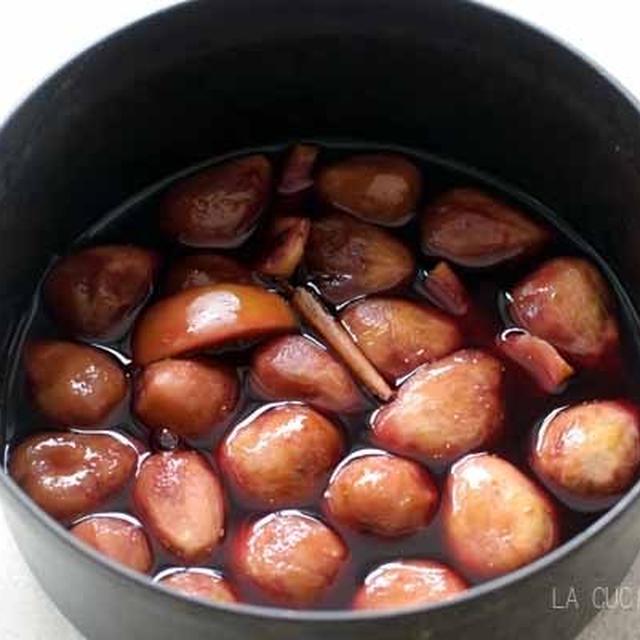 ☆いちぢくの赤ワイン煮