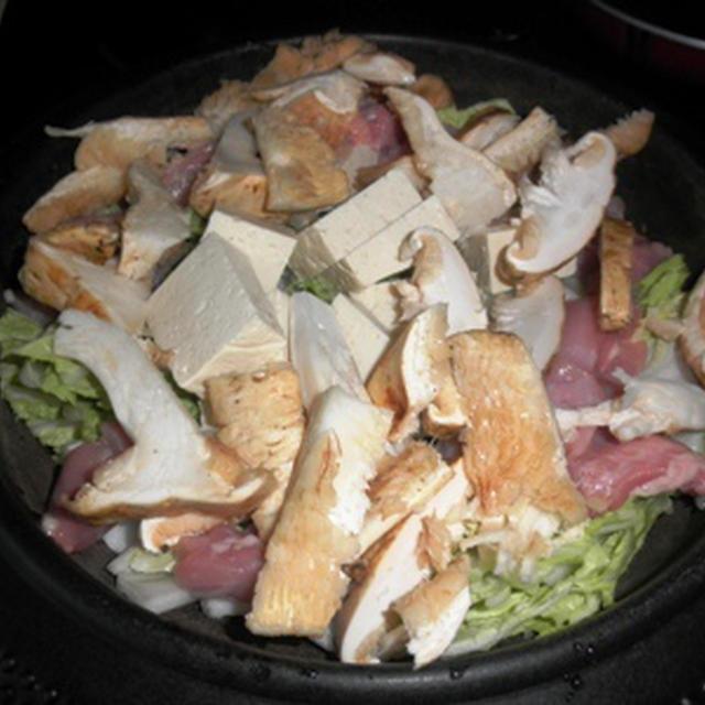 松茸鶏すき焼き ~ 松茸雑煮 ~ 松茸雑炊