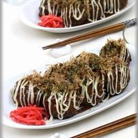 【日本食研のハンバーグソース】これっ!たこ焼き?