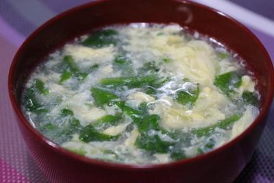 365日レシピNo.193「塩麹でかき玉汁」