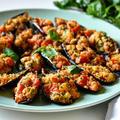 ムール貝のオーブン焼き(グラティナータ)