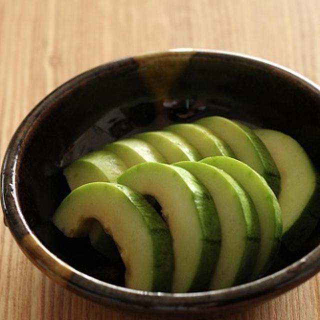 瓜のかんたん味噌漬け