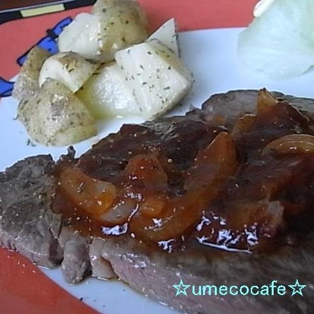 牛ロースステーキ~BBQソース~