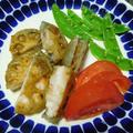 レンコンの挟み焼き(海老と豚ミンチ) by watakoさん
