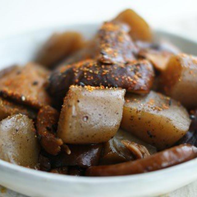 椎茸とコンニャクのサッと煮