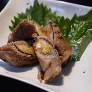 柚子胡椒ポン酢で味付け!なすの豚肉巻き。