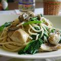 牡蠣のオイル漬けスパゲッティ☆牡蠣の旨味ソース