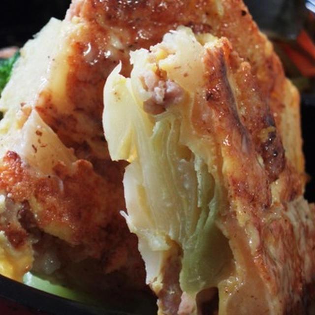 キャベツのスパニッシュオムレツ風またの名をお好み焼き:野菜炒めのリメイク:私のもう一つの「ケリ」タエ子ちゃんといっしょに