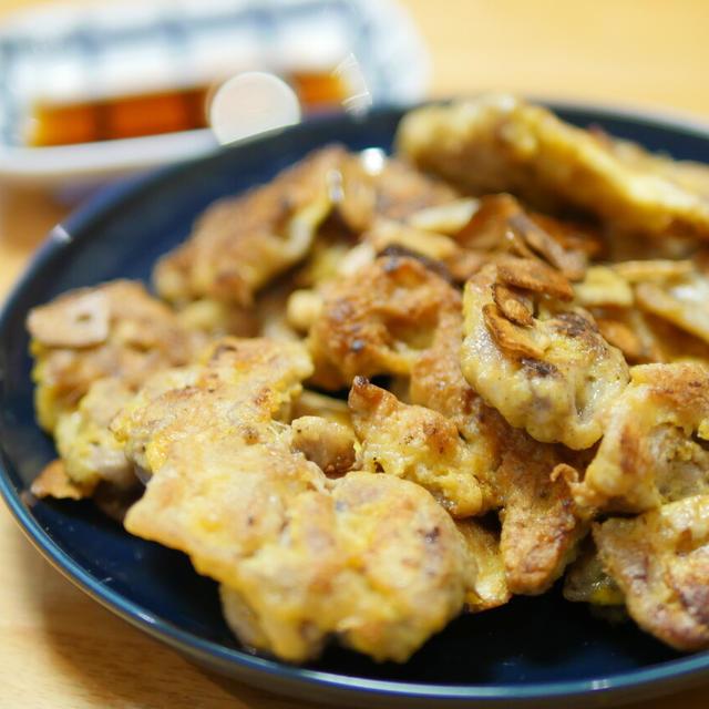 【レシピ】お弁当に入ってたら嬉しいやつ。豚小間切れ肉のピカタ。ポン酢味でも、ケチャップでも。