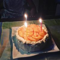 ヨーグルトクリームde桃のショートケーキ