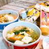 しょうがとにんにくで体ぽかぽか!豆腐と野菜の卵スープ☆