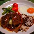 チーズinベーコン巻き☆煮込みハンバーグ by とまとママさん