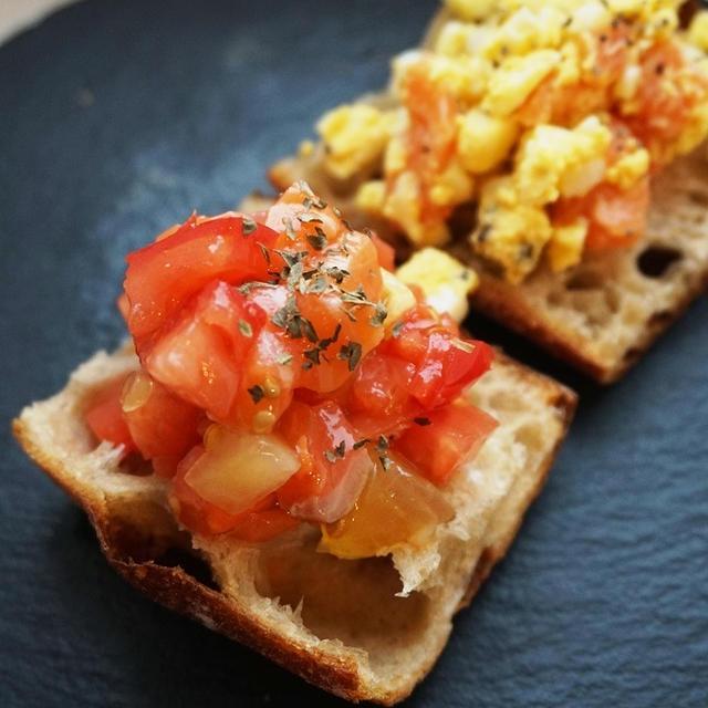 朝ご飯に、しゅわっとスパークリング酒に宮城サーモンタルティーヌ