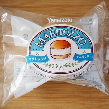 ヤマザキ「マリトッツォ」に新フレーバー「チーズクリーム」登場(チルドタイプ)