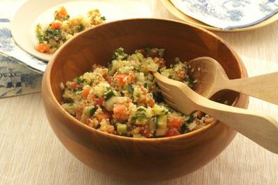 ★レシピ★プチプチ、ムチムチな食感がたまらない!ブルグルサラダ