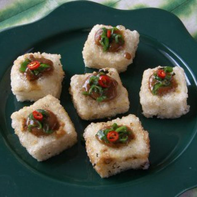 豆腐のピーナッツソース インドネシア風