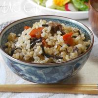 ひじき炊き込み玄米