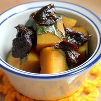 かぼちゃの煮物 久しぶりのお弁当画像