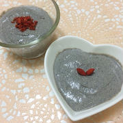 【レシピ】濃厚黒ごまバナナムース