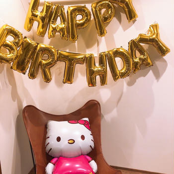 誕生日会準備♡