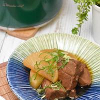 牛肉と大根の甘辛煮|冬野菜とお肉の相性抜群おだしレシピ