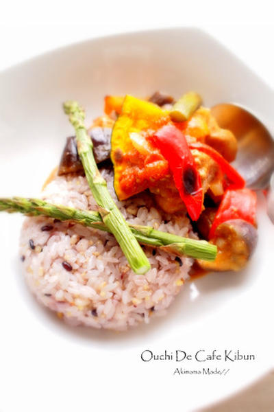 ルクエで夏野菜カレー