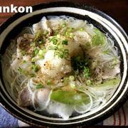 【下茹で不要!】ネギ塩豚おろしにゅうめんと、吉野家の冷凍牛丼のお知らせ