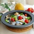 レンジで簡単!サバと野菜のメイン料理♪