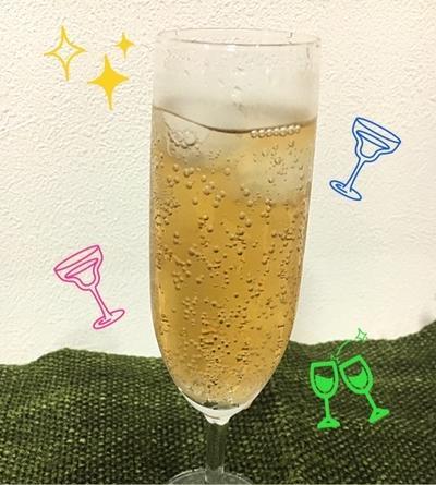 カクテル ☆ ガラナ・アンタルチカ焼酎割り