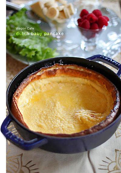 Dutch baby pancake** ダッチベイビーパンケーキ