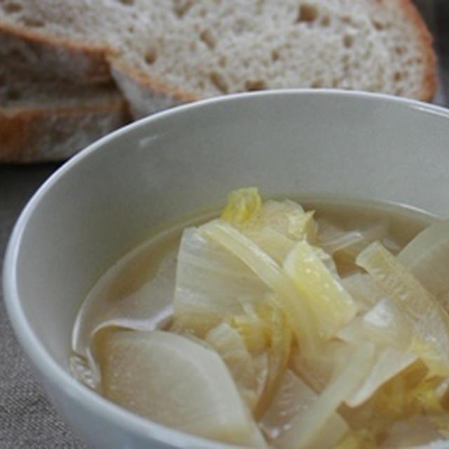【ホエーを使った】体にやさしい野菜スープ