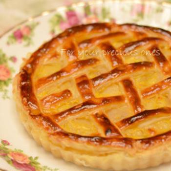 【朝食♡焼きたてアップルパイ】