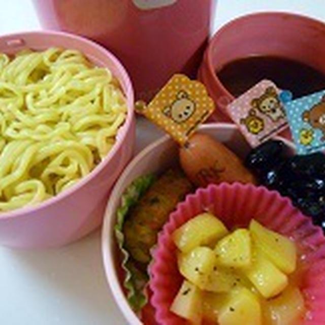 冷たいつけ麺弁当 と KRAFT トイストーリーチーズマカロニ!! 飾り巻き寿司レッスン6月