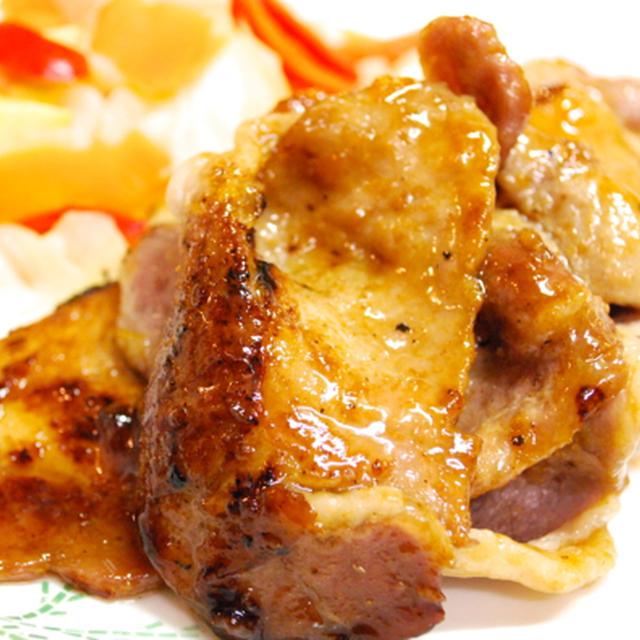 『ジャムで美味しく!豚肉のソテー ママレード風味』